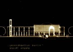 Ansicht Gemeindezentrum Berlin